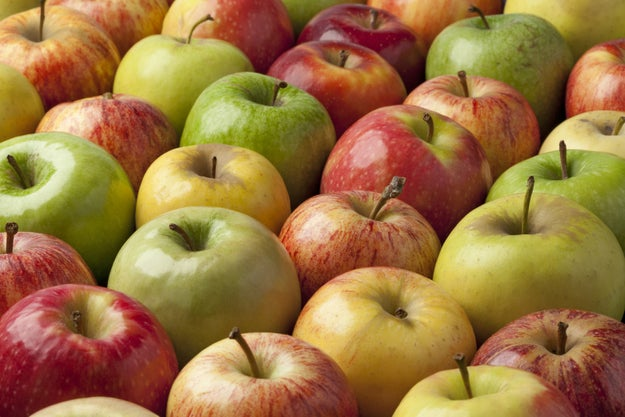 There are about 10,000 different types of apple in the world.