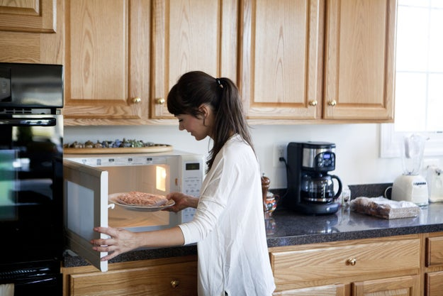 Cooking in the microwave is the best way to preserve the minerals and nutrients in food.