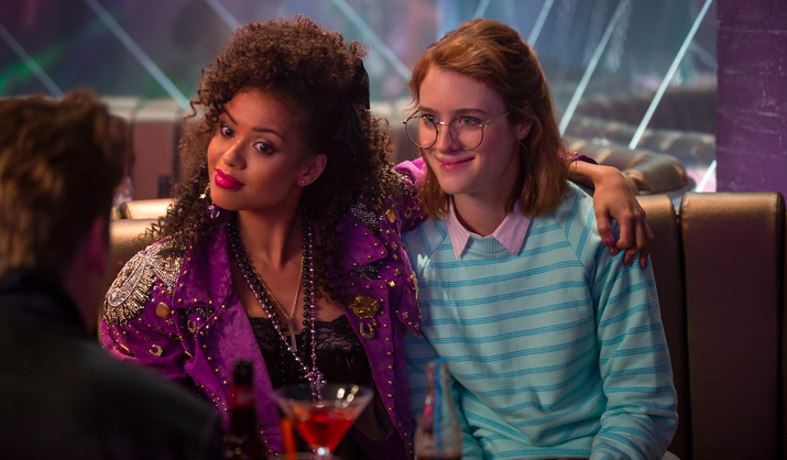 """The show: A show where usually everything is horrible and makes you fear for humanity's future, the exception being this amazing episode.""""I am already out as bisexual, but Kelly from the """"San Junipero"""" episode of Black Mirror was instrumental in helping me to finally feel like my sexuality was valid and felt by other people. I knew this rationally, but for some reason, seeing it actually represented in a television show, and represented so accurately, was amazing."""" –rebecca0815"""