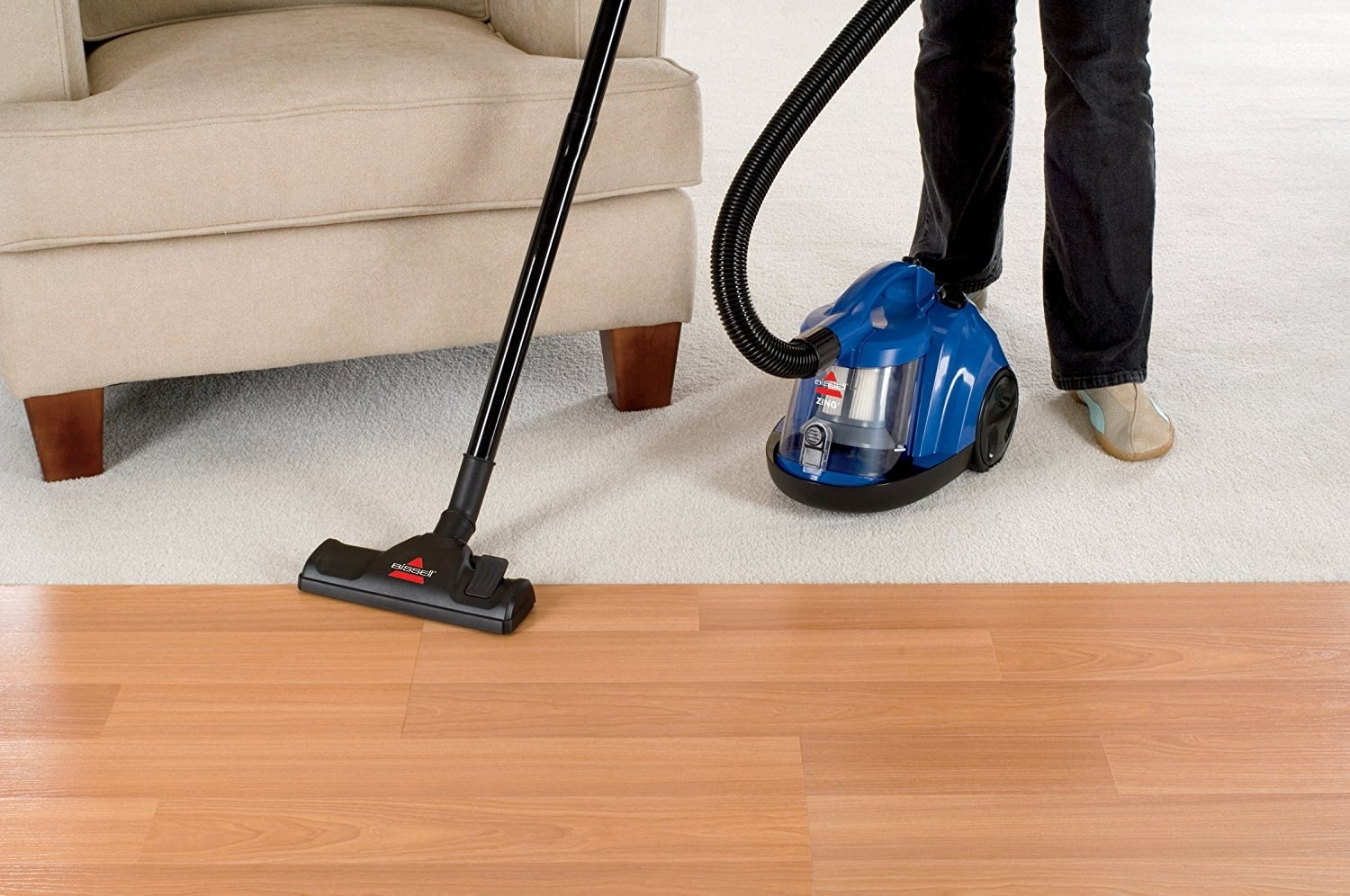 21 of the best vacuums you can get online a bagless bissell canister vacuum thatll basically serve as a pet haireating monster dailygadgetfo Choice Image
