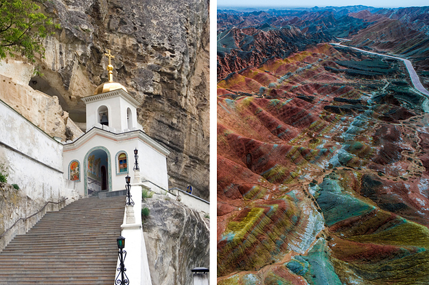 Which Random Spot On Planet Earth Should You Be At Right Now?