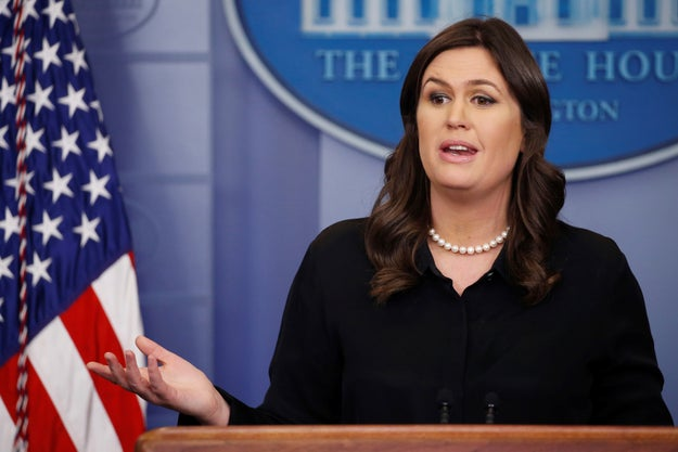 But when asked about it during Wednesday's press briefing, White House press secretary Sarah Huckabee Sanders appeared to throw cold water on the possibility after politicians from both sides of the aisle raised concerns about the cost.