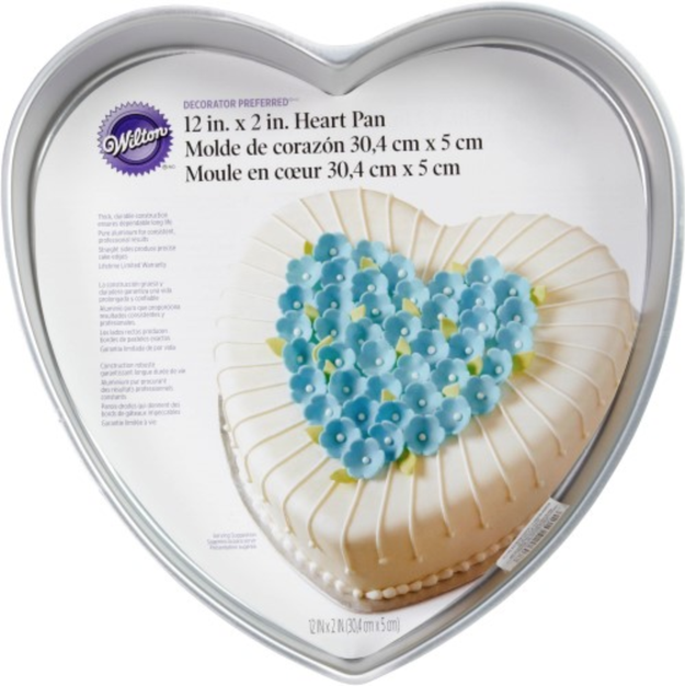 A heart-shaped cake pan so you can literally bake with love.