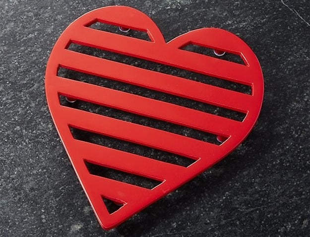 A valentine trivet that can handle the hot and/or heavy.