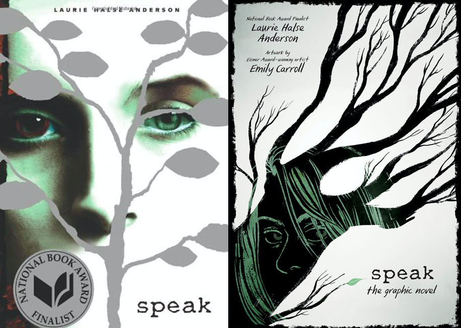 Speak Book Laurie Halse Anderson
