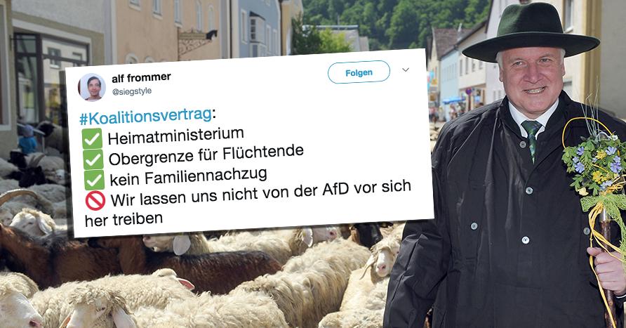 Seehofer Heimatministerium