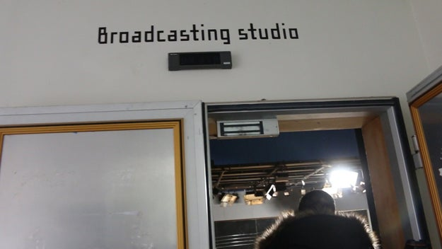 The school has everything an inspiring Idol would need. There's a broadcasting studio.