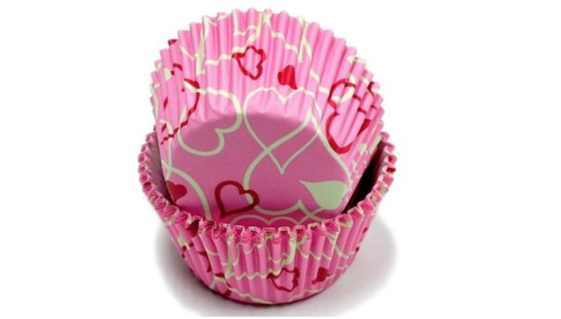 A pack of 50 Valentine's Day cupcake liners that aren't basic like those boring ones you bought last year.