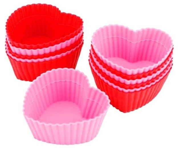 A 12 pack of silicone baking cups so you can break up with your muffin pans for good.