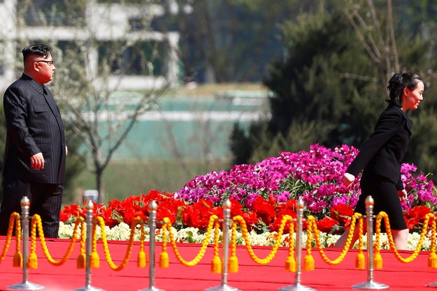 Kim Yo Jong last year also took an spot on the politburo of North Korea's all-powerful Workers' Party as an alternate, a sign that observers said showcased just how large a role she plays in the government.