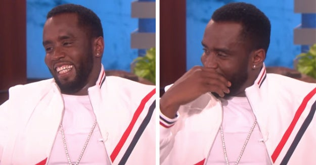 Diddy Just Told Ellen Why He Crops People Out Of Pictures And It's An Incredible Plot Twist