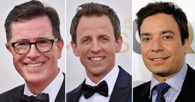 Finally, which late night host would you LEAST want to marry?