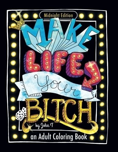 """Promising review: """"I love adult coloring books and usually get ones that have inspirational messages so when I found one that combined swearing with inspirational messages I had to buy it!"""" —BethGet it from Amazon for $3.99."""