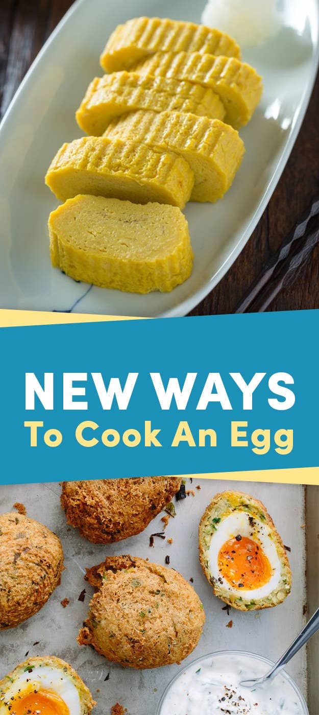 14 New Ways To Cook An Egg
