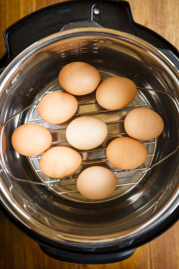 Make perfect hard-boiled eggs in an Instant Pot.
