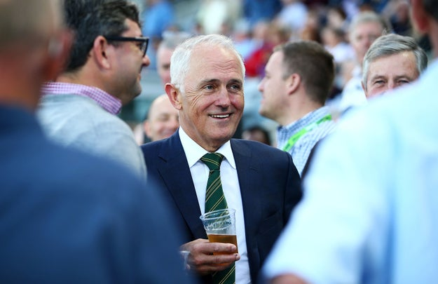 Let's stop for a second and just state for the record that Australia is a country. Here's the Australian prime minister, Malcolm Turnbull.