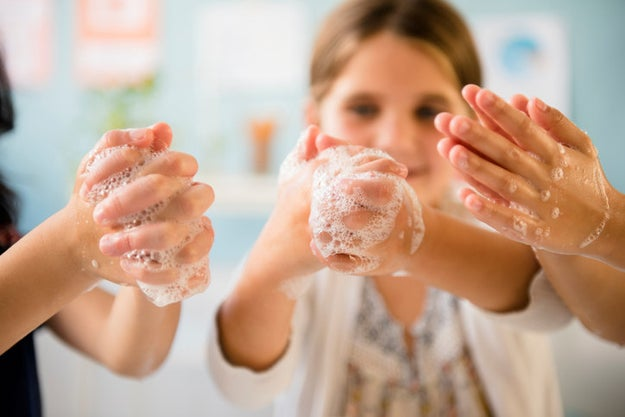 And remember: Wash your hands constantly and teach your kids to do the same!