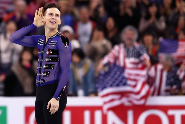 Then, on Wednesday, USA Today reported that Pence's team invited the figure skater to meet the vice president — but Rippon turned them down.