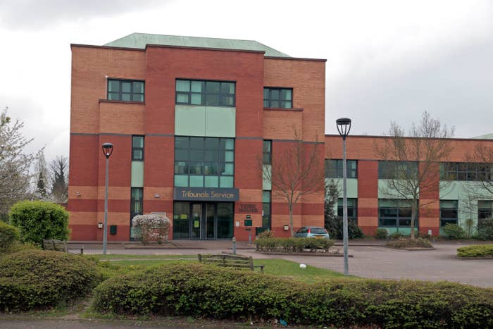 Immigration Tribunals Service office in Feltham West of London, UK.