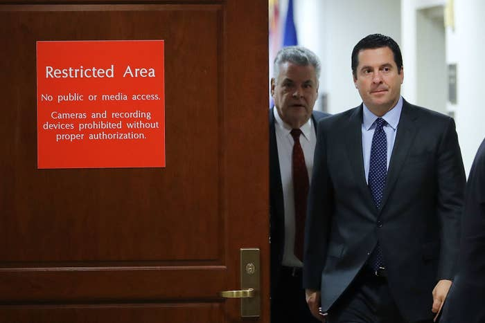 House Intelligence Committee chair Devin Nunes.
