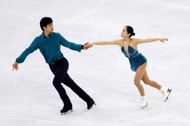 Suzaki and Kihara will perform the routine again during the pair skating competition on Feb. 13.