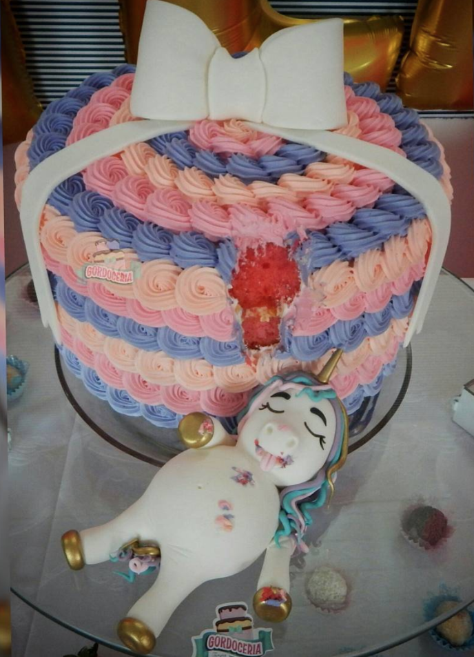 Astonishing This Fat Unicorn Cake Might Just Be The Cutest Thing Youll See Funny Birthday Cards Online Necthendildamsfinfo