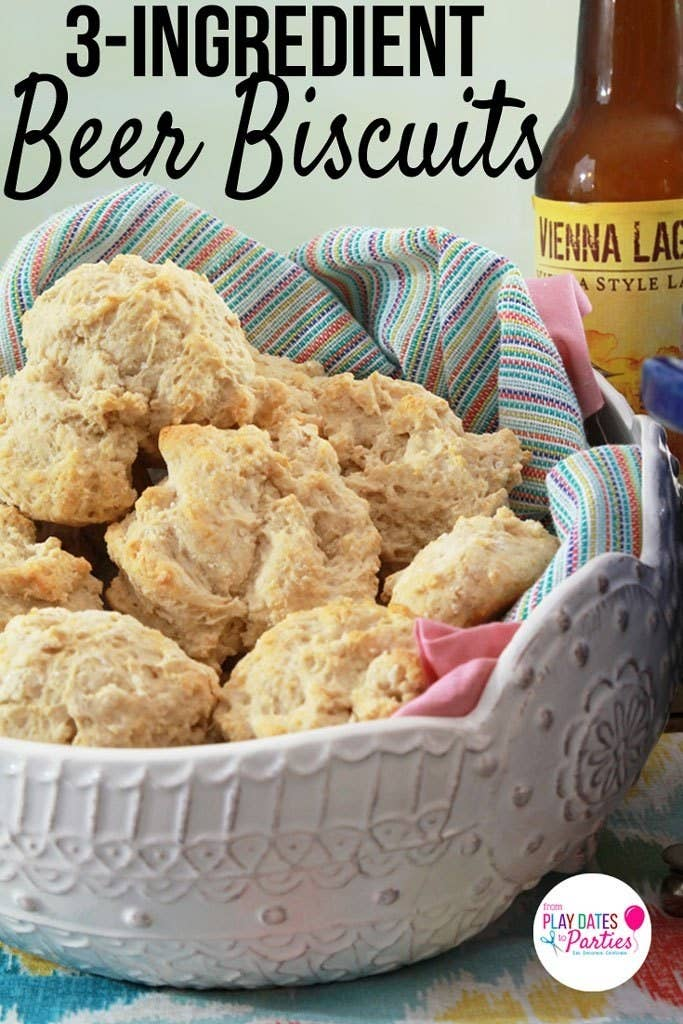 A malty brew makes these quick and easy biscuits irresistible. Recipe here.
