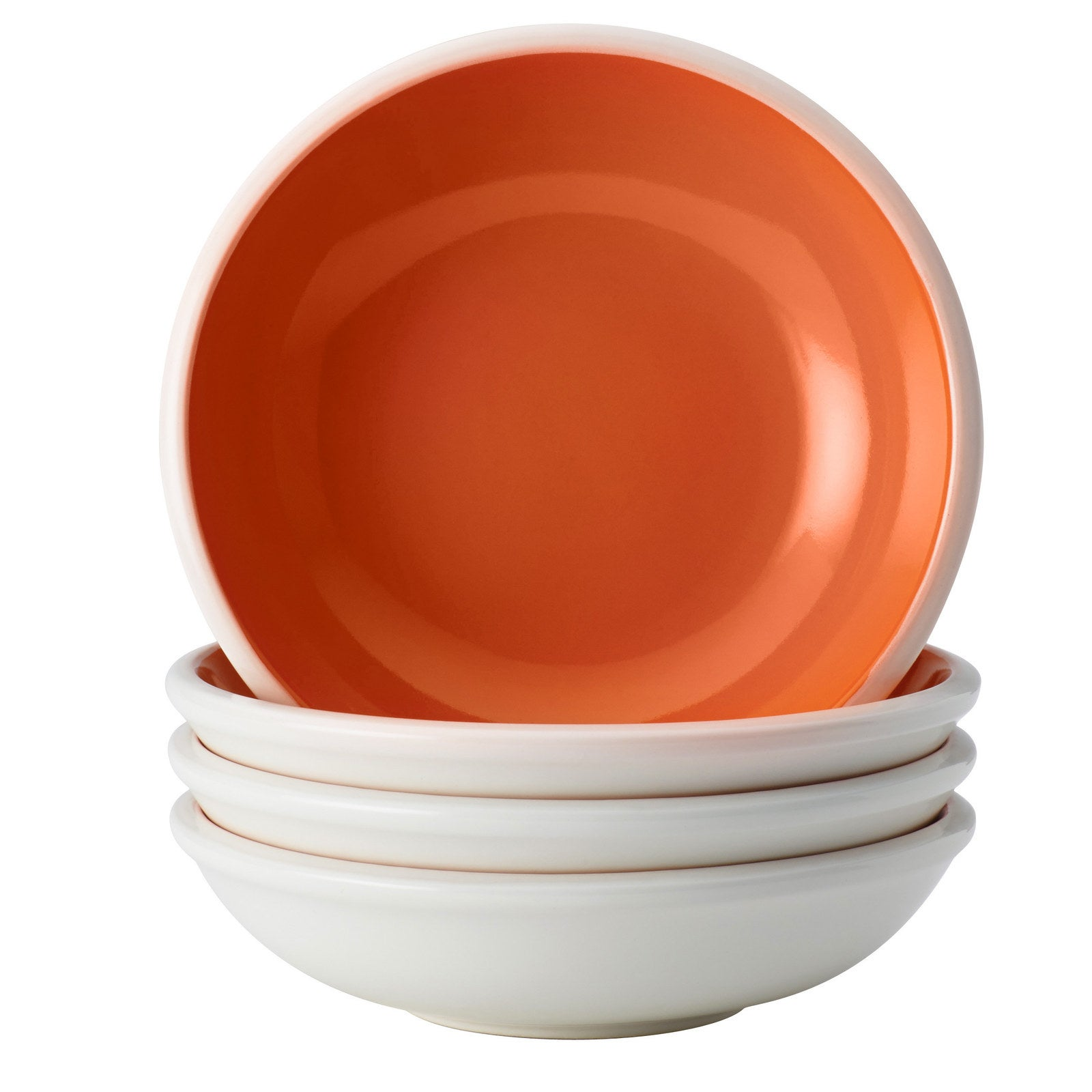 A four-piece stoneware fruit bowl set that is so vibrant it'll light up your entire cupboard.