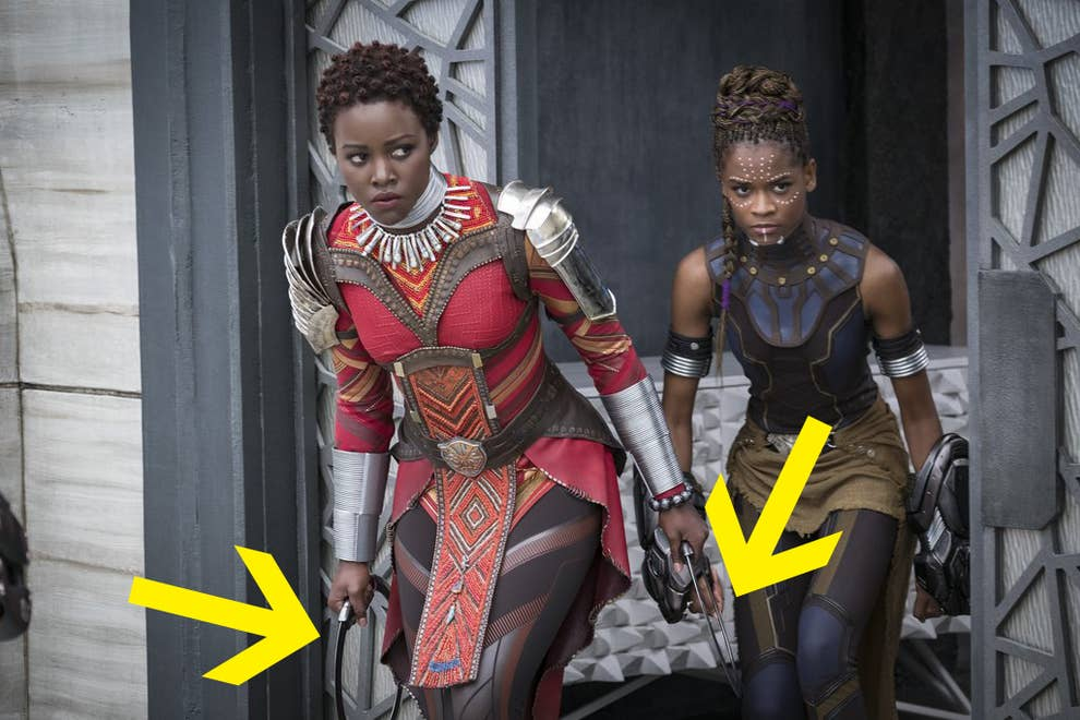 18 Mind Blowing Details About The Dora Milaje Costumes In Black Panther