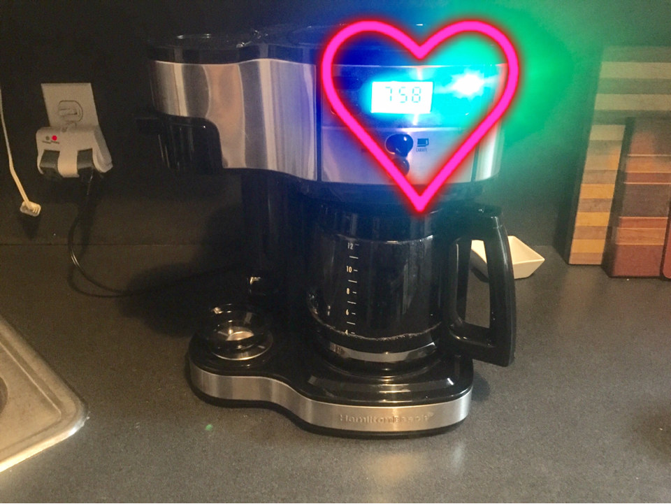This Programmable Coffee Maker Is The Reason I Get Out Of Bed