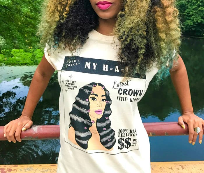 facc1be7 A Solange shirt for reminding everyone that your GLORIOUS crown is not to  be messed with and your magic is FOREVER.