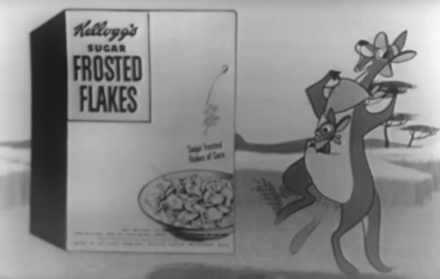 The Frosted Flakes mascot could've been Katy the Kangaroo, but Tony the Tiger outsold her.