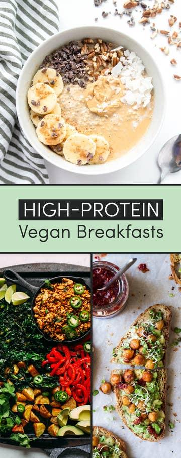 14 Protein Packed Vegan Breakfasts