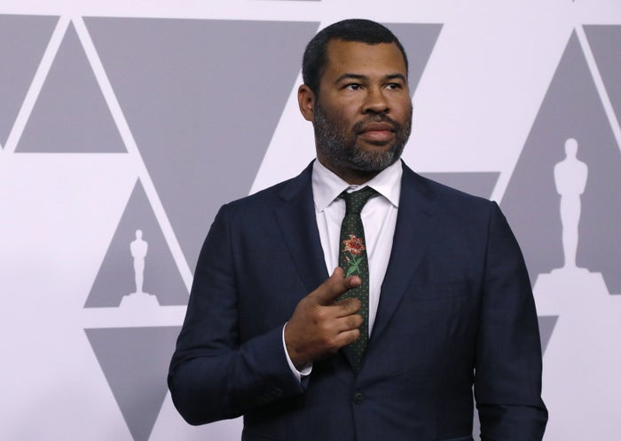 Jordan Peele at the 90th Oscars Nominees Luncheon in Los Angeles.