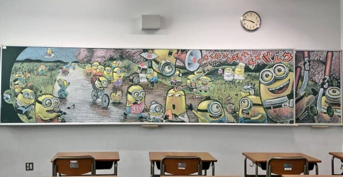 3年間ありがとう卒業を祝う黒板アートたちが本当に泣ける