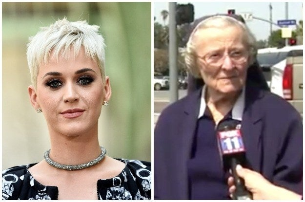 A Nun Involved In A Lawsuit With Katy Perry Collapsed And Died In Court