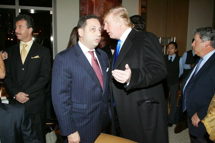 Sater and Trump.
