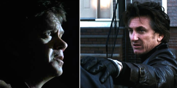 In Mystic River, when Dave took the blame for Katie's murder, thinking his life would be spared, but Jimmy killed him anyway, and then the real murderer was revealed.