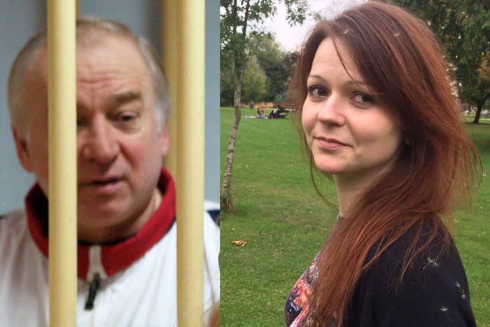 """Sergei Skripal and Yulia Skripal, who remain in """"critical but stable"""" condition in hospital after being exposed to a deadly nerve agent."""