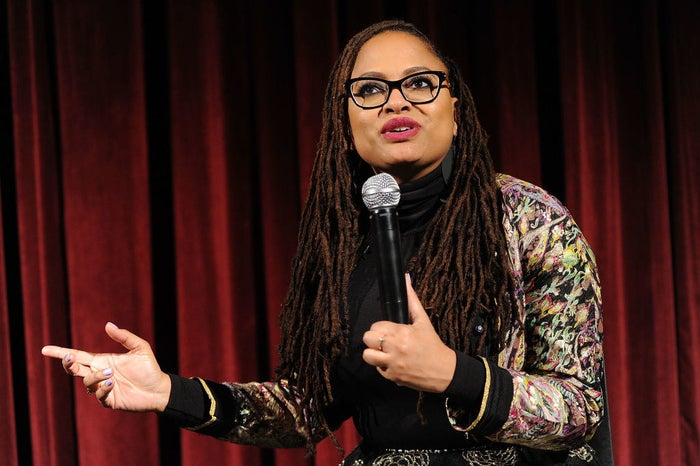 Ava DuVernay at the official Academy screening of A Wrinkle in Time.