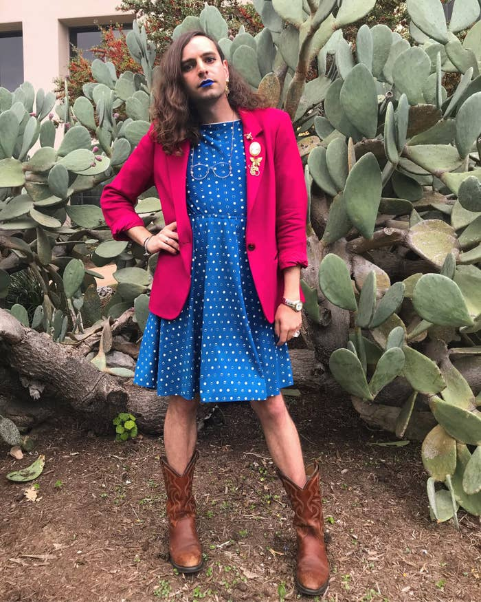 """It ranges from people laughing at me, verbally assaulting me, or taking my picture without my consent, to people stopping me mid-strut to exclaim """"Oh my god, I love your outfit,"""" or inquiring """"WHERE is that lipstick from?!?"""""""