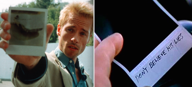 In Memento, when Leonard realized that Teddy might have been the real killer he was looking for the whole time.