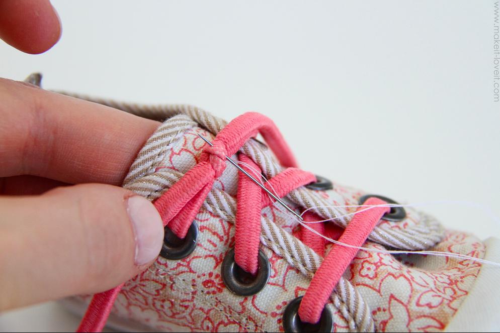 Как сделать так чтоб шнурки не развязывались