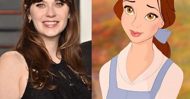 Zooey Deschanel Will Star As Belle In A Live Concert Of