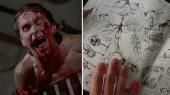 In American Psycho, when Patrick visited Paul's apartment the day after the murders, assuming it would be covered in blood, but it was absolutely spotless.