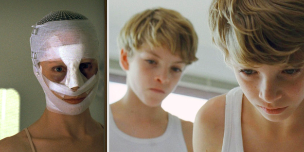 In Goodnight Mommy, when Elias imagined that his brother, who had died in an accident, was alive the whole time.