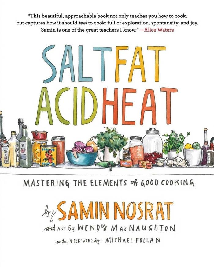 "Promising review: ""I just read this cover to cover, and felt compelled to write a review. This is really an essential book for everyone's library. I love to cook and have a beautiful collection of cookbooks, but this one is truly special. Samin is a lovely writer. She exudes warmth and humor in her stories, and it flows in such a way that you forget you are reading a combo of a cookbook/science textbook. Samin breaks down the importance of salt, fat, acid and heat. It's not just recipes but what, why, and how. She does not talk down to her readers. She is straightforward, enthusiastic, and fun. I've always loved the 'why' in cooking and baking (like the The Food Lab: Better Home Cooking Through Science) – but I love that she narrows it down to four basic elements. I personally like referring to recipes, especially for dishes I don't cook on a weekly basis."" –peppermintaGet it from Amazon for $16.99+."