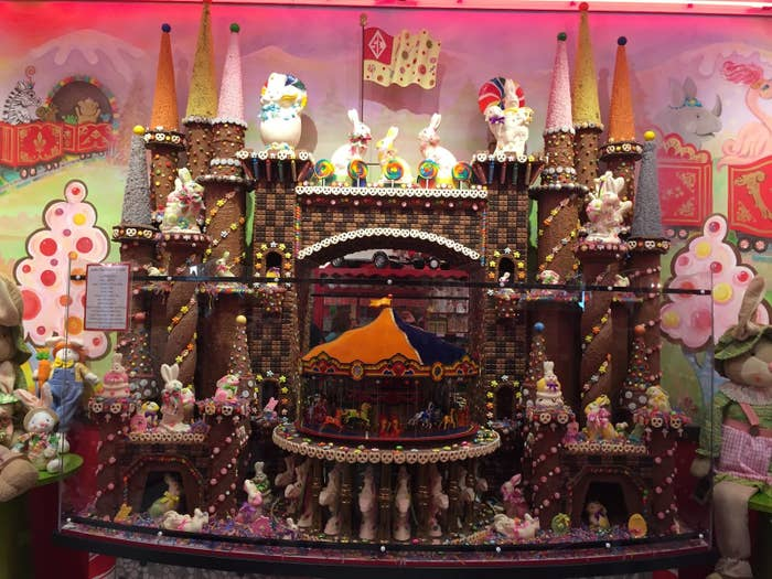 The candy castle at Sarris Candies, March 12, 2018.