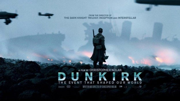 The ticking sounds that serve as a crucial theme on Dunkirk's score were recorded by Hans Zimmer from one of Nolan's own pocket watches.