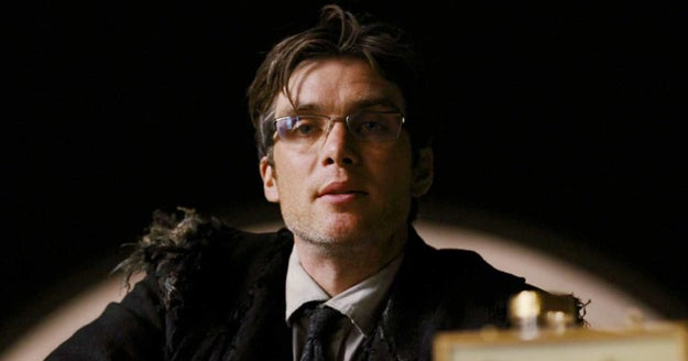 Nolan was so fascinated with Cillian Murphy's bright blue eyes that he kept trying to find reasons to have Crane remove his glasses in Batman Begins.